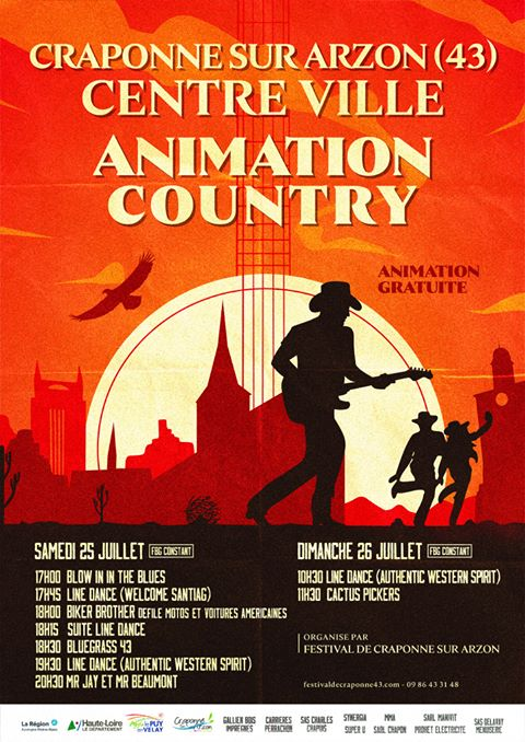 Craponne-sur-Arzeon Animation Country